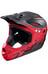 Alpina Fullface Helm black-red